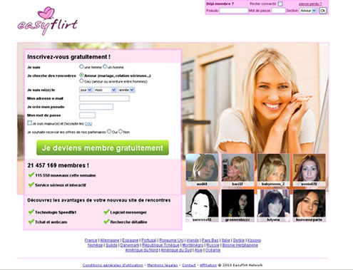 Site de rencontre france flirt